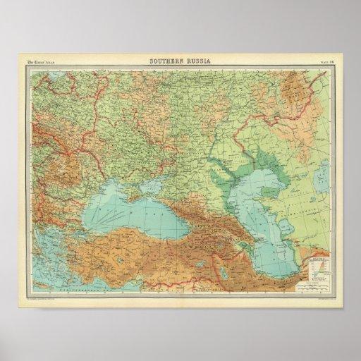 Rusia meridional póster