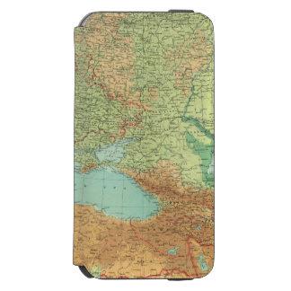 Rusia meridional funda cartera para iPhone 6 watson
