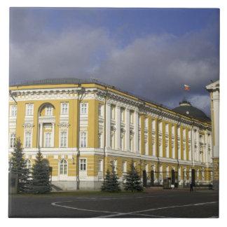 Rusia, Moscú, el Kremlin, palacio del senado, Azulejo Cuadrado Grande