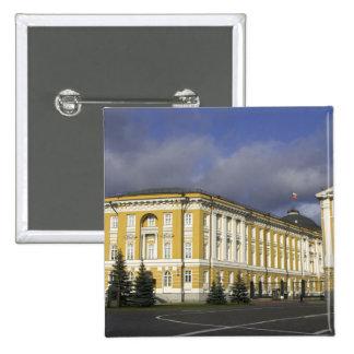 Rusia, Moscú, el Kremlin, palacio del senado, Pin Cuadrada 5 Cm