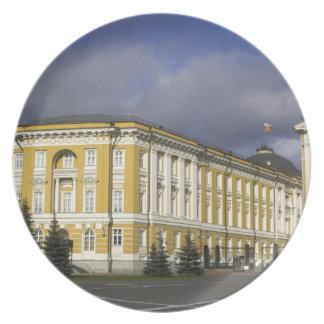 Rusia, Moscú, el Kremlin, palacio del senado, Platos Para Fiestas