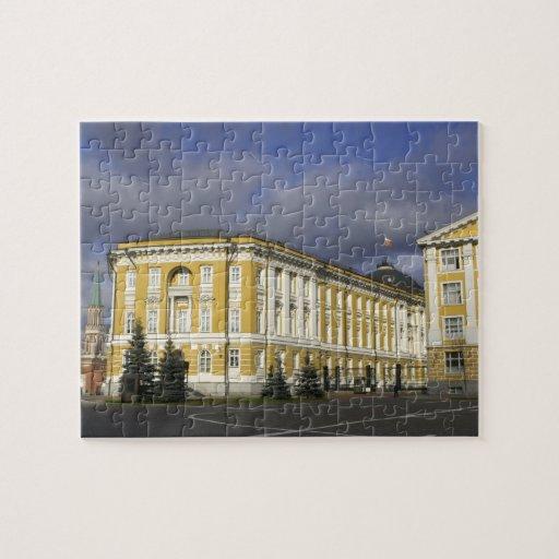 Rusia, Moscú, el Kremlin, palacio del senado, Rompecabeza