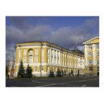 Rusia, Moscú, el Kremlin, palacio del senado, Postales
