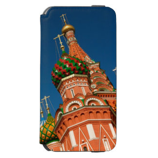 Rusia, Moscú, el Kremlin, Vasiliy bendijo Funda Billetera Para iPhone 6 Watson
