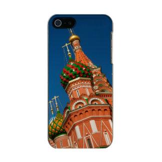 Rusia, Moscú, el Kremlin, Vasiliy bendijo Funda Para iPhone 5 Incipio Feather Shine