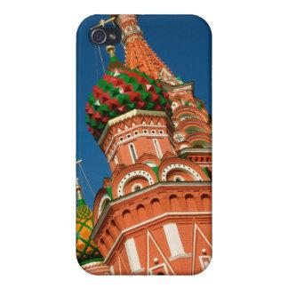 Rusia, Moscú, el Kremlin, Vasiliy bendijo iPhone 4 Funda