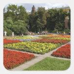 Rusia, Moscú, Plaza Roja, Alexandrovsky Calcomania Cuadradas Personalizada