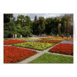 Rusia, Moscú, Plaza Roja, Alexandrovsky Felicitacion