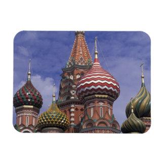 Rusia, Moscú, Plaza Roja. cebollas famosas del St. Imán Foto Rectangular