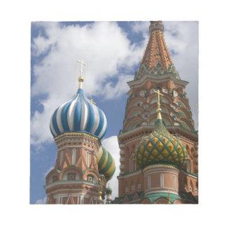 Rusia, Moscú, Plaza Roja. St. Albahaca 4 Blocs