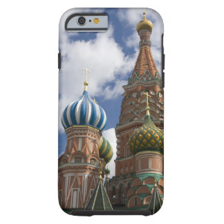 Rusia, Moscú, Plaza Roja. St. Albahaca 4 Funda De iPhone 6 Tough
