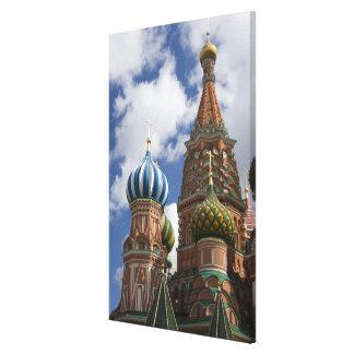 Rusia, Moscú, Plaza Roja. St. Albahaca 4 Impresion En Lona