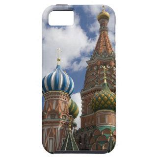 Rusia, Moscú, Plaza Roja. St. Albahaca 4 iPhone 5 Fundas