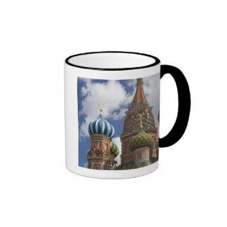 Rusia, Moscú, Plaza Roja. St. Albahaca 4 Taza De Dos Colores