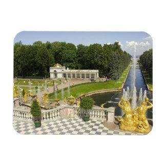 Rusia. Petrodvorets. Palacio de Peterhof. Peter Imanes Rectangulares