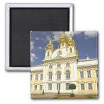 Rusia. Petrodvorets. Palacio de Peterhof. Peter lo Imán Cuadrado