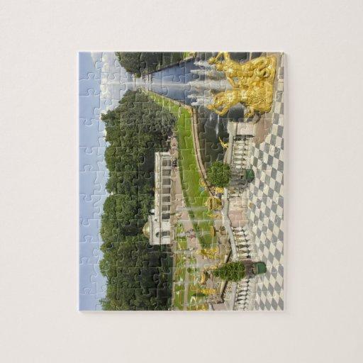 Rusia. Petrodvorets. Palacio de Peterhof. Peter Rompecabeza