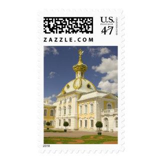 Rusia. Petrodvorets. Palacio de Peterhof. Peter Sello Postal