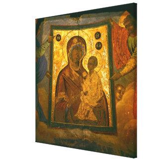 Rusia provincia de Novgorod monasterio de Tikhvi Impresiones De Lienzo