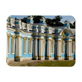 Rusia, Pushkin. Porción de palacio de Catherine Imán Foto Rectangular