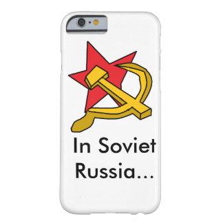 Rusia soviética funda de iPhone 6 barely there