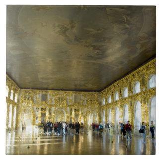 Rusia, St Petersburg, el palacio de Catherine (aka Azulejo Cuadrado Grande