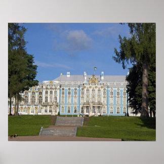 Rusia, St Petersburg, el palacio de Catherine (aka Posters