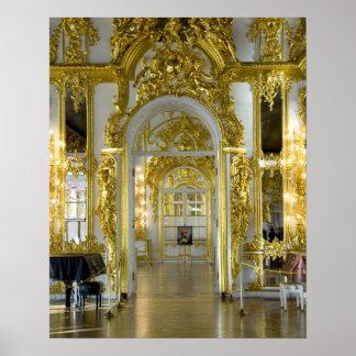 Rusia, St Petersburg, el palacio de Catherine (aka Impresiones