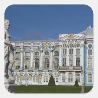 Rusia, St Petersburg, el palacio de Catherine (aka Pegatina Cuadrada