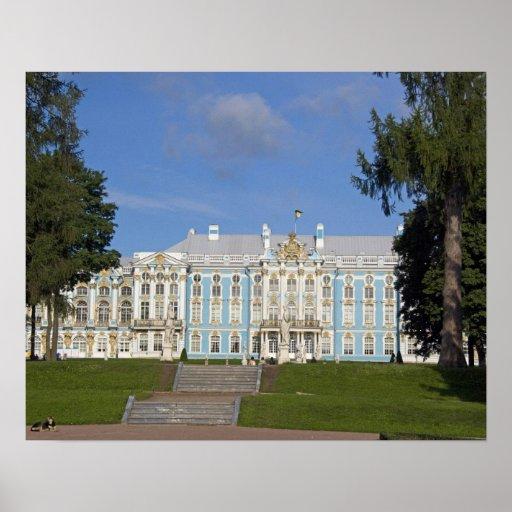 Rusia, St Petersburg, el palacio de Catherine (aka Póster