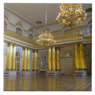Rusia, St Petersburg, la ermita (aka 4 Azulejo Cuadrado Grande