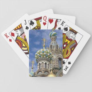 Rusia, St Petersburg, Nevsky Prospekt, Baraja De Póquer