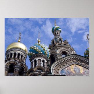 Rusia, St Petersburg, Nevsky Prospekt, los 2 Posters