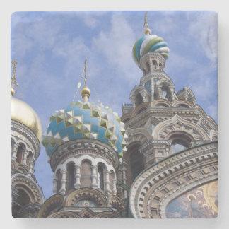 Rusia, St Petersburg, Nevsky Prospekt, los 2 Posavasos De Piedra