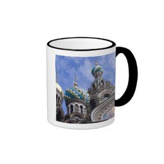 Rusia, St Petersburg, Nevsky Prospekt, los 2 Tazas De Café