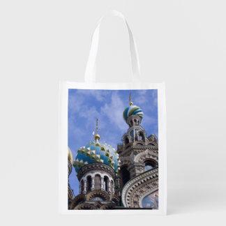 Rusia, St Petersburg, Nevsky Prospekt, los 2 Bolsas De La Compra