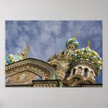 Rusia, St Petersburg, Nevsky Prospekt, Poster
