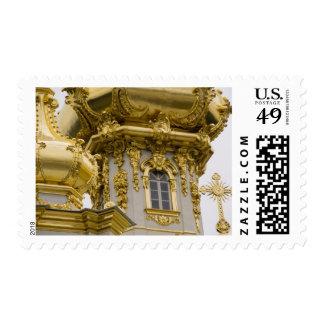 Rusia, St Petersburg, palacio de Peterhof (aka Estampillas