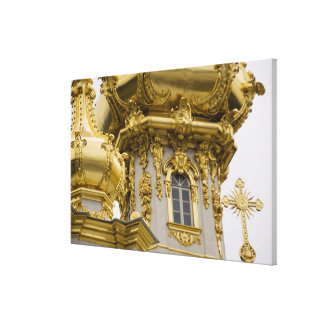 Rusia, St Petersburg, palacio de Peterhof (aka Lienzo Envuelto Para Galerias