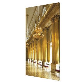 Rusia, St Petersburg, palacio del invierno, Lona Envuelta Para Galerias