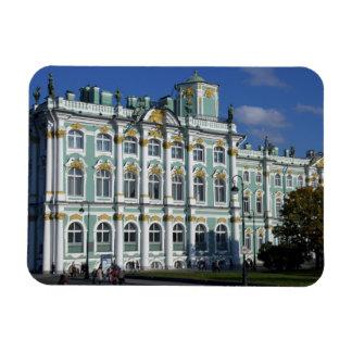 Rusia, St Petersburg, palacio del invierno, los 2 Iman Rectangular