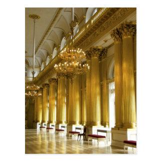 Rusia, St Petersburg, palacio del invierno, Postal