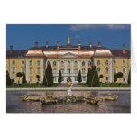 Rusia, St Petersburg, Peterhof, palacio magnífico  Tarjetón