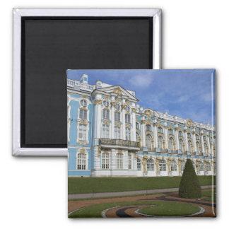 Rusia, St Petersburg, Pushkin, Catherine 4 Imán Cuadrado