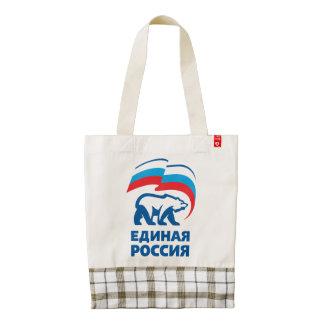 Rusia unida bolsa tote zazzle HEART