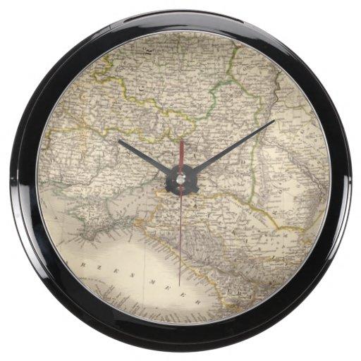 Rusia y Europa 3 Relojes Acuario