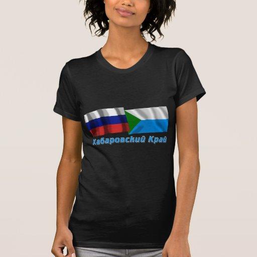 Rusia y Jabárovsk Krai Camiseta