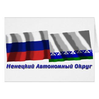 Rusia y Nenets Okrug autónomo Tarjeta