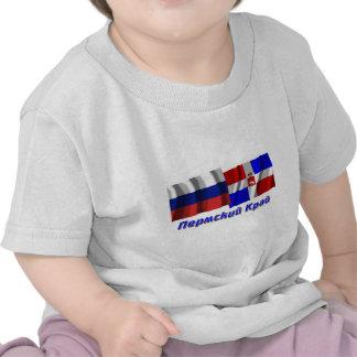 Rusia y ondulación permanente Krai Camisetas