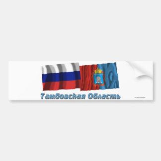 Rusia y Tambov Oblast Etiqueta De Parachoque